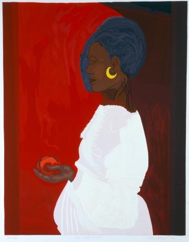 The White Dress, BAT 1/1, 1999, Serigraph on paper
