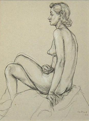 Female Nude B11, c. 1945