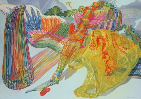 Phoenix Kite, 2008, Oil on canvas