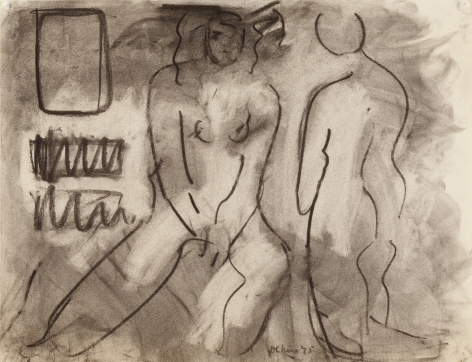 Two Figures, n.d.