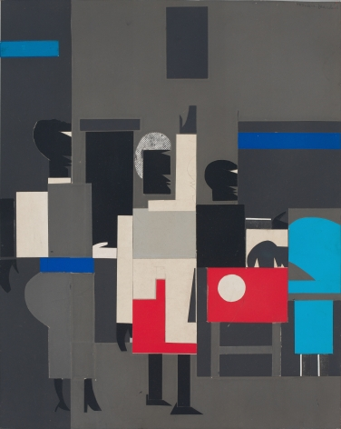 Untitled (Four Figures), c. 1967