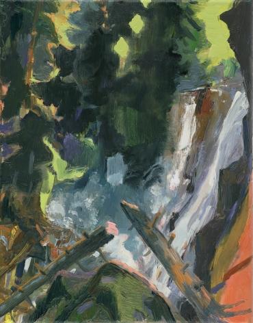 Broken Tree in a Ravine, 2020