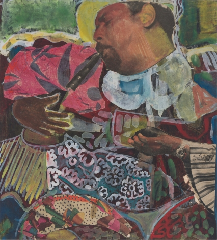 David Driskell Sweet Music - Homage to Dizzy Gillespie, 1978