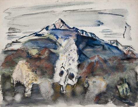 Mount Chocorua, White Mountains, 1926