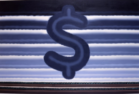 Landscape with Dollar Sign, 1991