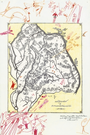 Boys' Art #14: Military Map of the Korat Plateau, 2003