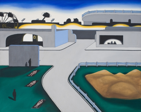 Roger Brown, Amusement Centre, c. 1970
