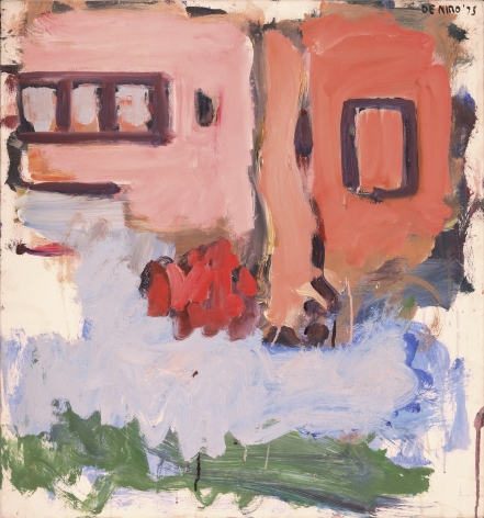 Pink and Salmon Houses, 1975