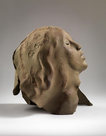 Leaf Head, c. 1978, Ceramic