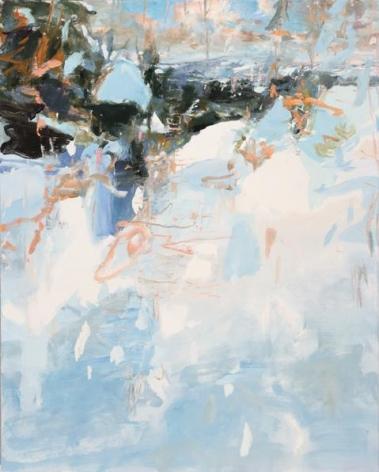 Ilves, 2014. Oil on linen, 60 x 48 in.