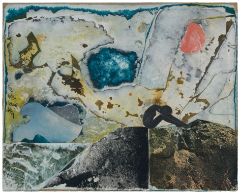 Untitled (Figure on a Rock), c. 1970s