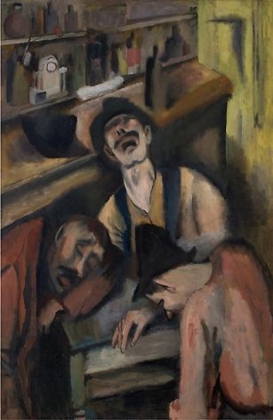 Prospectors, 1921 Oil on canvas, 50 x 33 inches