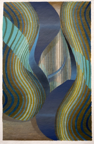 Blue and Bronze, 2019