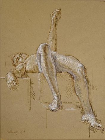 Portrait of Ralph McWilliams, 1953