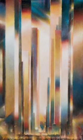 Beacon, 2019 Oil on canvas