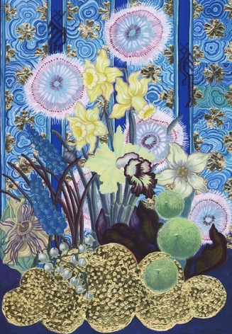 Larissa Bates Economic Botany: Naranjilla and Viceroy Cloud, 2015