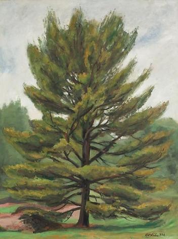 Tree Alone, Vermont, 1938