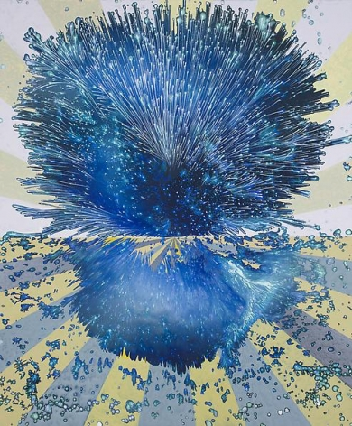 Barbara Takenaga, Blue on the Horizon, 2013.