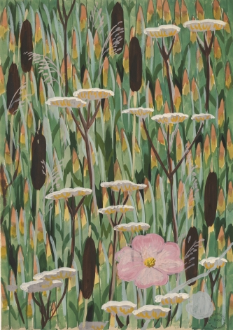 Charles Burchfield Wallpaper Design No. 4, 1922-28