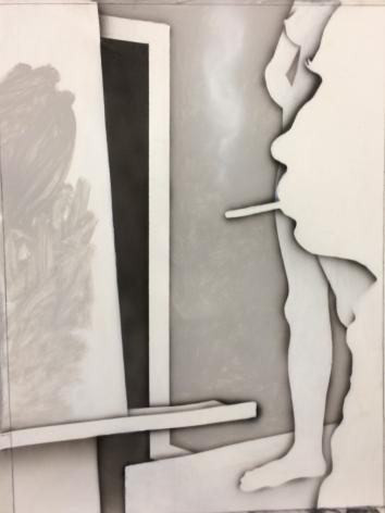 Easel Painter with Door, 2017