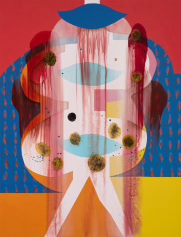 Carrie Moyer, La Signora, 2020