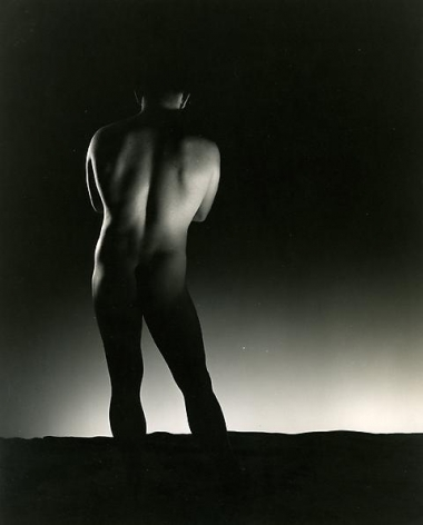 Male Nude Back View, n.d.