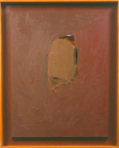 Head, 1990 Oil on canvas