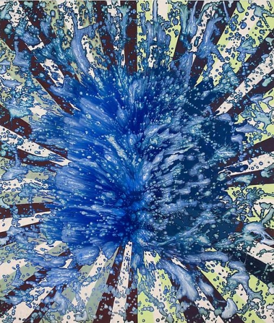 Barbara Takenaga, Blue Splash, 2013.