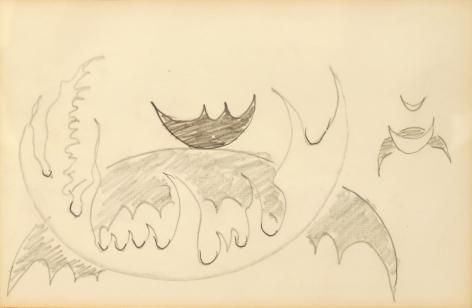 Doodle 5, n.d., Pencil on paper