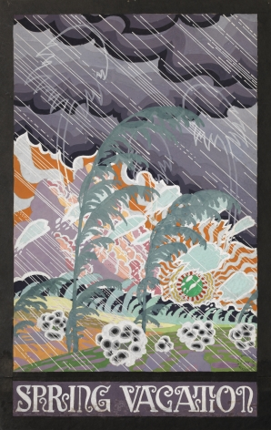 Charles Burchfield Spring Vacation, c. 1915