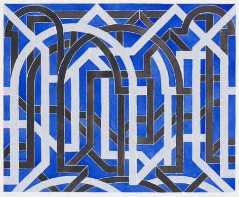 Montrose, 1983 Gouache on paper