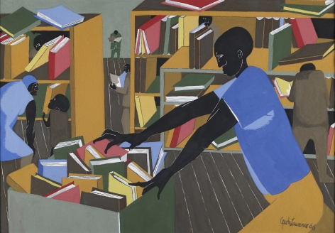 The Library, 1978 Silkscreen on paper