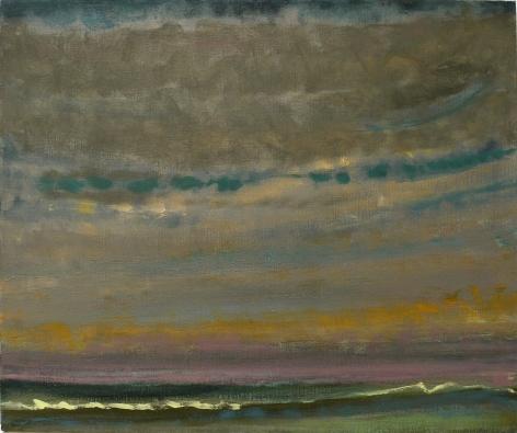 Pale Night: Mecox Bay, 1985