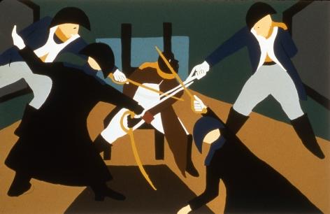 Deception, 1997 Silk screen on paper