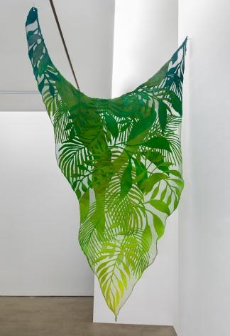 hanging wire mesh sculpture