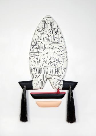 Vinyl wall sculpture by Trish Tillman