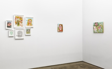 Paintings and works on paper by Rebecca Morgan