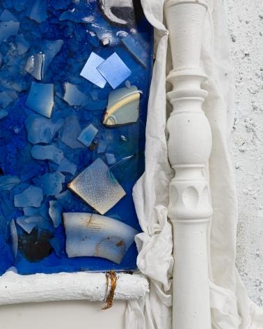Detail of sculpture by Julie Schenkelberg