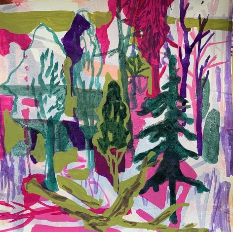 Work on paper by Allison Gildersleeve