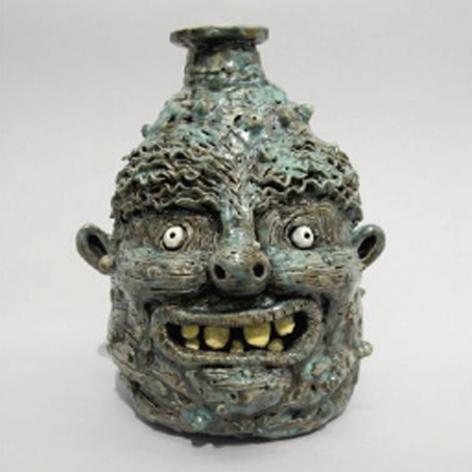 ceramic face jug