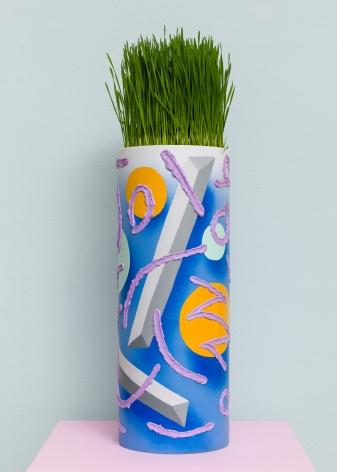 Plant in sculpture