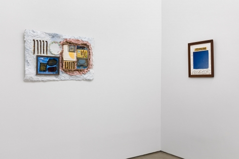 """Installation view of Julie Schenkelberg, """"From the Ashes"""""""