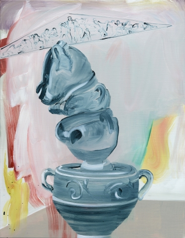 Painting on canvas by Marjolijn de Wit