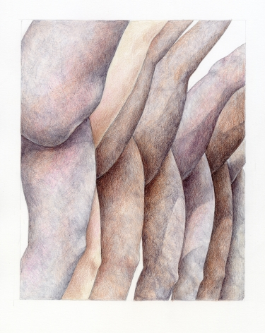 Work on paper by Katarina Riesing