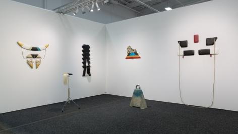 Install view of Trish Tillman sculpture