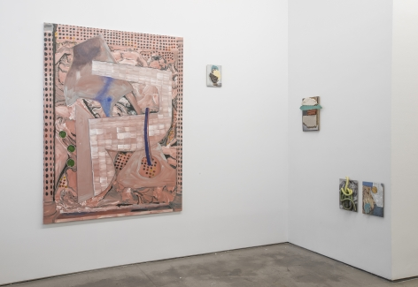 Installation of works by Marjolijn de Wit