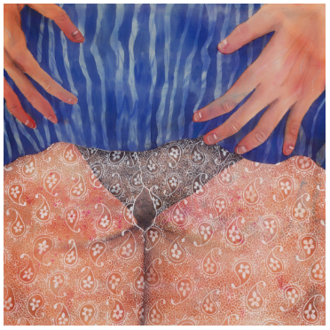 """Paintings by Katarina Reising in Artsy - """"Body Issues: The Pleasures of Painting Skin"""", by Alina Cohen"""
