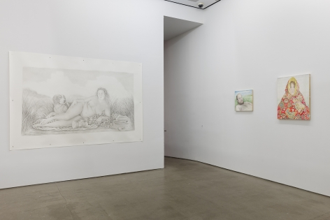 installation of works by Rebecca Morgan