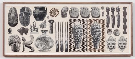 Ink on found paper by Matthew Craven