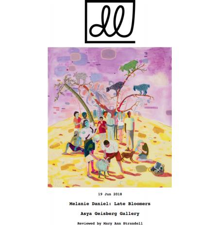 Delicious Line: Melanie Daniel review